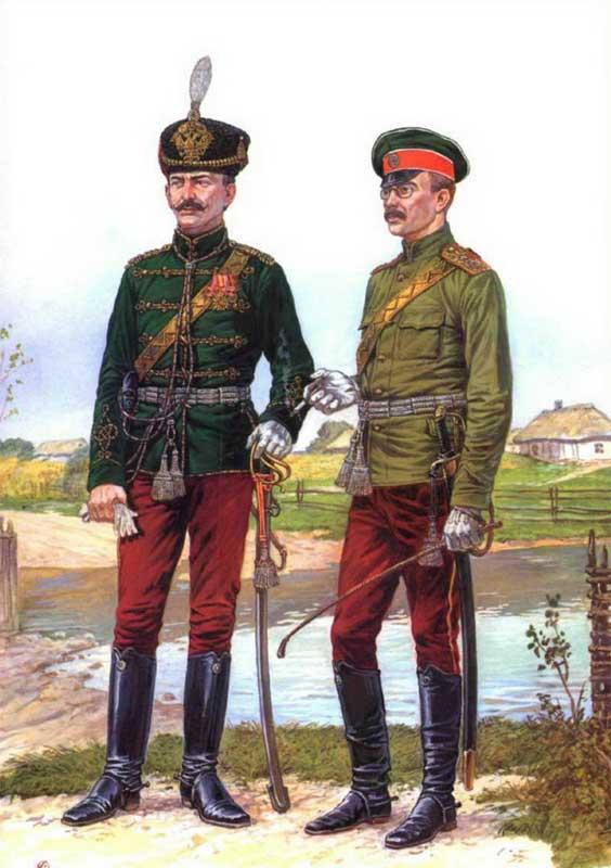 Униформа армейских гусар 1907-1918 годов