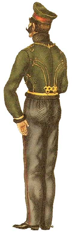 Униформа армейских гусар 1826-1855 годов