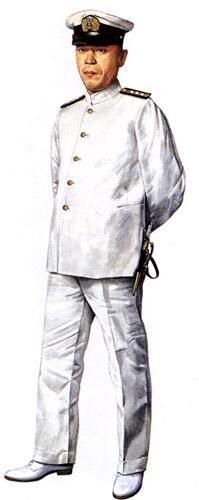 Униформа ВМС Японии во Вторую мировую