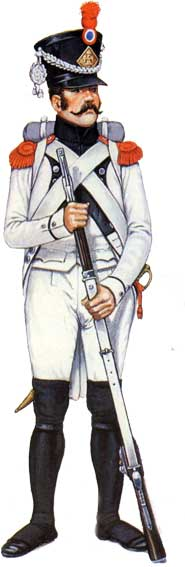 Униформа пехоты армии Наполеона 1796-1815 гг.
