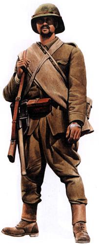 Униформа сухопутных войск Румынии во Вторую мировую