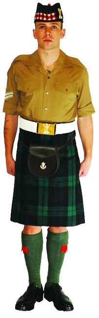 Униформа Королевского полка Шотландии