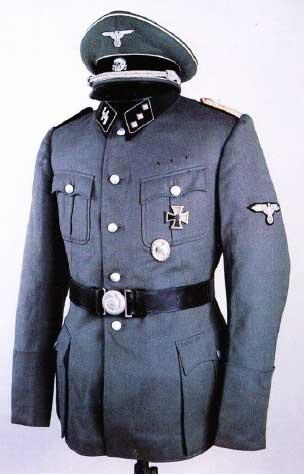 Униформа дивизий СС
