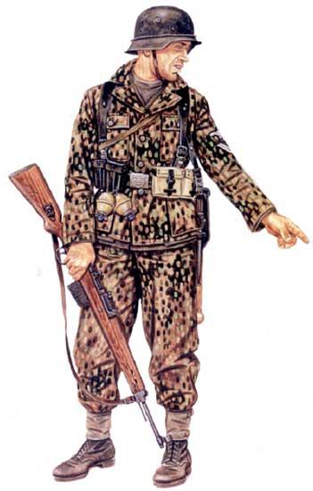 Униформа 32-й гренадерской дивизии СС