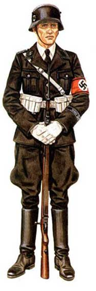 Униформа 1-й танковой дивизии СС