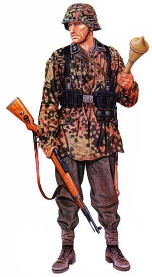 Униформа 17-й панцергренадерской дивизии СС