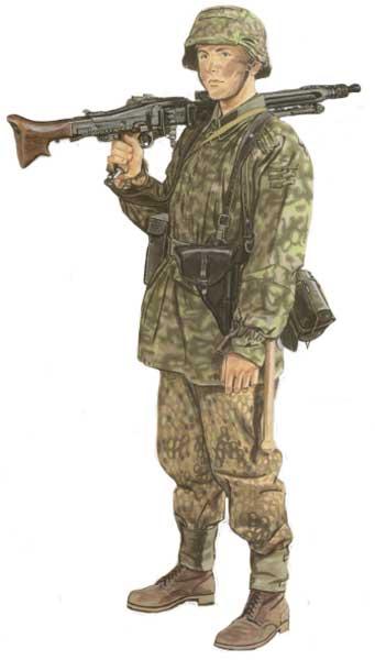 Униформа 12-й танковой дивизии СС «Гитлерюгенд»