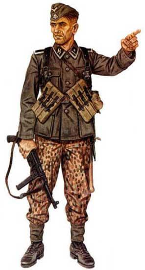 Униформа 9 танковой дивизии СС