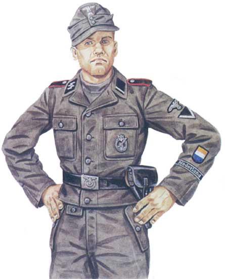 Униформа 23-й панцергренадерской дивизии СС