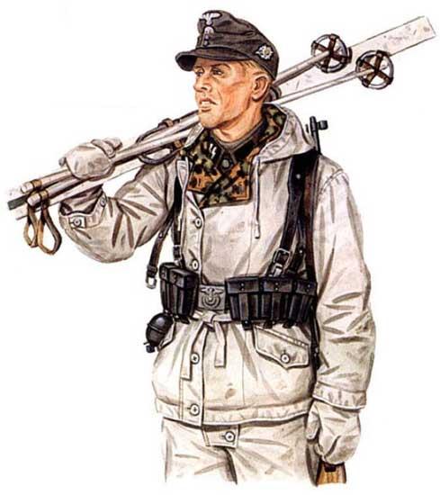 Униформа 6-ой горнострелковой дивизии СС