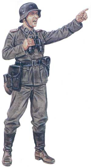 Униформа 11-й панцергренадерской дивизии СС