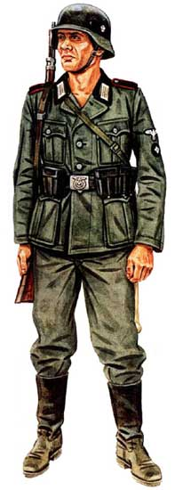Форма 4 полицейской танково-гренадерской дивизии СС