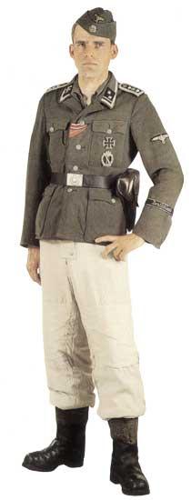 Униформа 2-й танковой дивизии СС