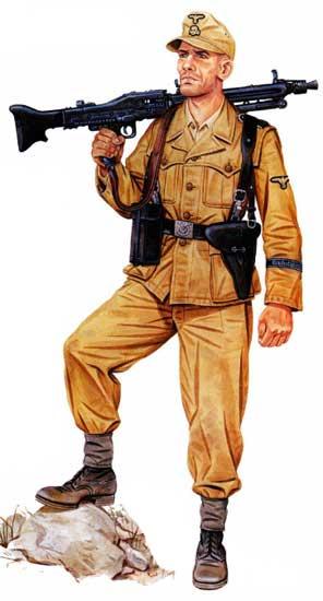 Униформа 16-й панцергренадерской дивизии СС