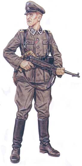 Униформа 22-й кавалерийской дивизии СС