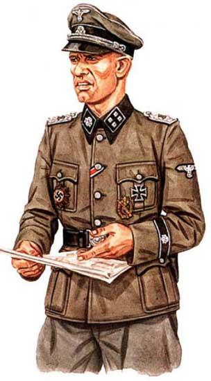 Униформа 3-ей танковой дивизии СС
