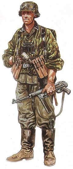 Униформа 18-й панцергренадерской дивизии СС