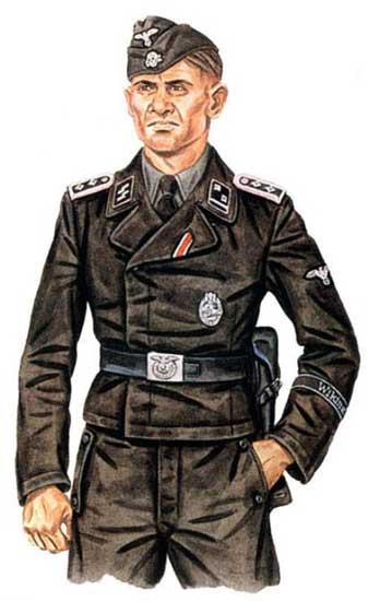 Униформа 5-й танковой дивизии СС