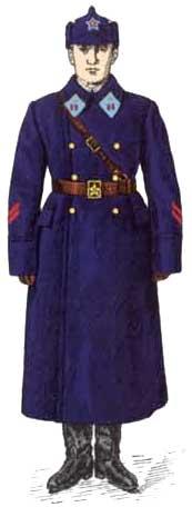 Униформа воздушных сил РККА 1936 - 1941 годов