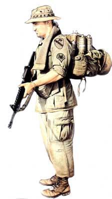 Униформа пехотинца США 1965-1973  (война во Вьетнаме)