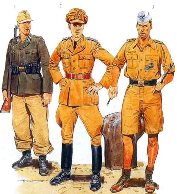 Униформа Африканского корпуса 1941-1943 гг.