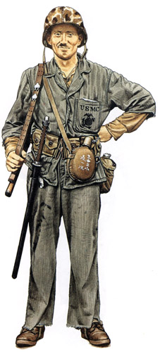Униформа морской пехоты США во Второй мировой