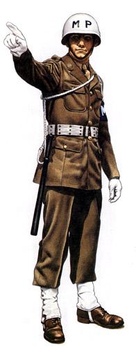 Униформа вспомогательных войск США во Второй мировой