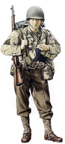 Униформа сухопутных войск США во Второй мировой