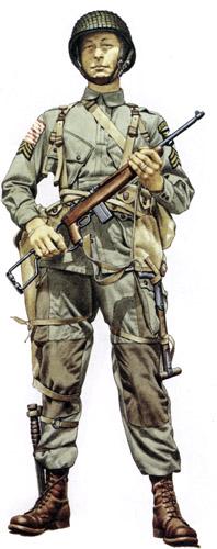 Униформа воздушного десанта США Второй мировой