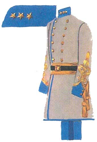 Униформа армии Конфедератов