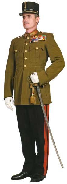 Униформа сухопутных войск венгерской армии 1926-1945
