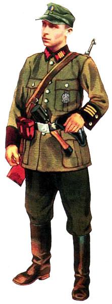 Униформа Украинской Повстанческой Армии (УПА)