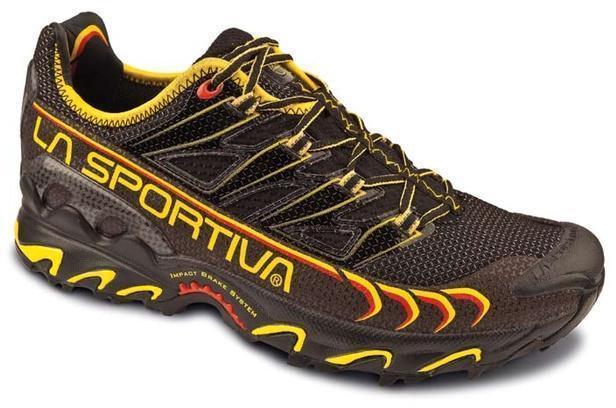 Кроссовки для длительного бега по пересеченной местности La Sportiva Ultra Raptor Black/Yellow