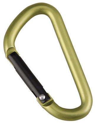 Карабин D-формы,диам. 5*50 мм (2шт) (упак=10 шт), 3205