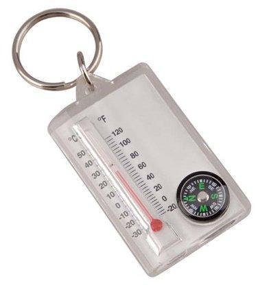 Брелок Компас с термометром (упак=10 шт), 3145