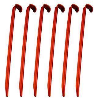 Набор колышков (6 шт) AceCamp Колышки алюминиевые - U 2713