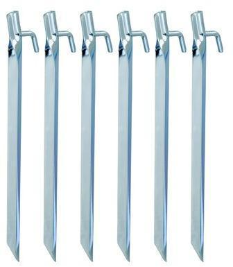 Набор колышков (6 шт) AceCamp Колышки стальные - V 2746