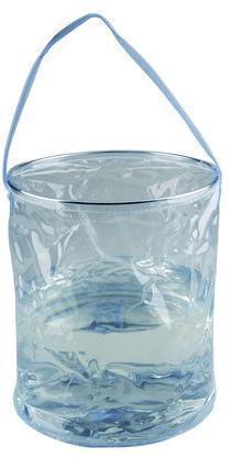 Купить Ведро складное, прозрачное 10 л. 10 л., 1702, AceCamp