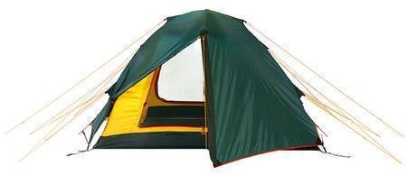 Универсальная двухместная туристическая палатка с двумя входами и двумя тамбурами Alexika Rondo 2 зеленый - артикул: 314680320