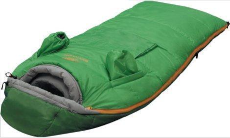 Cпальный мешок туристический для самых маленьких туристов с рукавами и наружным кармашком Alexika Mountain Baby 9226.0101, Кемпинговые (Лето) спальники - арт. 263720372