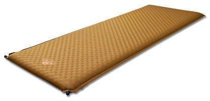 Комфортный туристический коврик для выездов на природу Alexika Alpine Plus 80 9355.7514 Brown