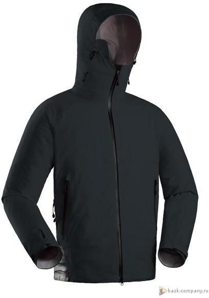 Купить Мембранная куртка BASK GRAPHITE черная, Компания БАСК