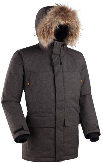 Мужская куртка-парка Баск ARADAN черный, Зимние куртки - арт. 164140333