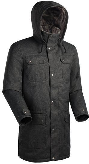 Мужское пальто Баск FORESTER ЧЕРНЫЙ L L, Пальто - арт. 164220409
