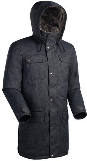 Мужское пальто Баск FORESTER СИНИЙ ТМН L L, Пальто - арт. 164210409