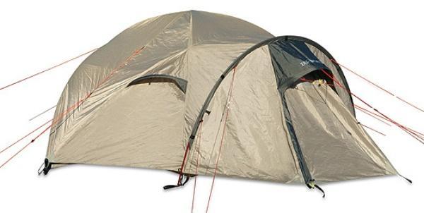 Геодезическая палатка с прихожей Sherpa Dome Plus Pu cocoon, Палатки двухместные - арт. 266750320