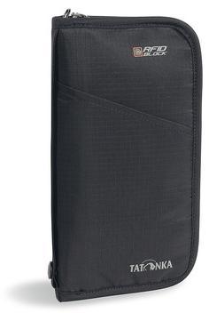 Плоская сумка для документов с защитой данных Travel Zip RFID B, black, 2957.040