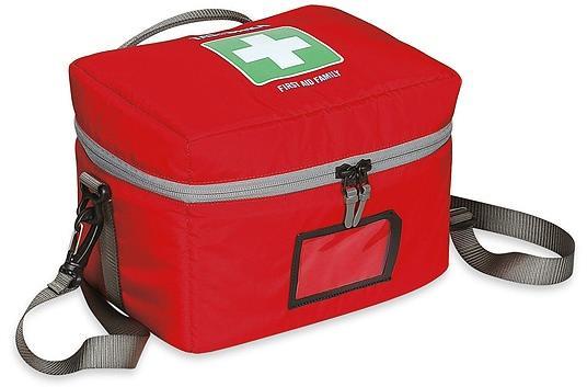 Большая аптечка с плотными стенками - для путешествий всей семьей First Aid Family red - артикул: 265030302