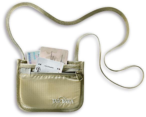 Шейный кошелек для денег и документов. Skin ID Pocket, natural, 2844.225