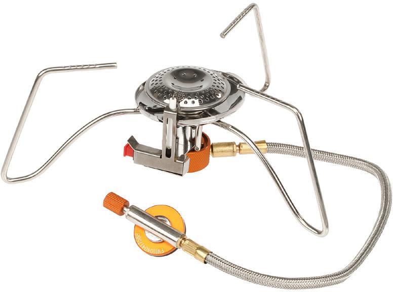 Портативная газовая горелка со шлангом и пьезоподжигом Fire-Maple FMS-104